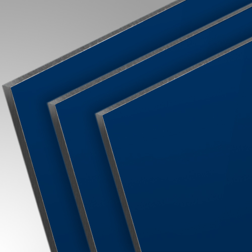 dibond aluverbundplatte blau ral5002 colour series 3mm einseitig matt gl nzend ebay. Black Bedroom Furniture Sets. Home Design Ideas